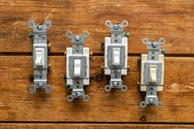 Types of Electrical <b>Switches</b> in the <b>Home</b>