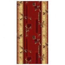 дорожка ковровая Capri 171 22 1 0м красная спокойные цвета и ...