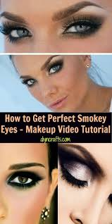 diy beauty at home aka how to get perfect smokey eyes makeup video tutorial