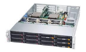 <b>Серверы Supermicro</b> 2U на 2 процессора в ассортименте ...
