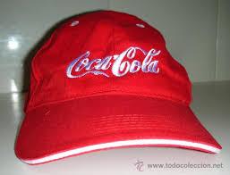 Resultado de imagen de coca cola gorra