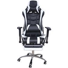 Игровое компьютерное <b>кресло</b> MFG-<b>6001</b> black <b>white</b> - <b>Меб</b>-<b>фф</b>