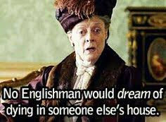 Downton on Pinterest | Downton Abbey, Violets and Dowager Countess via Relatably.com