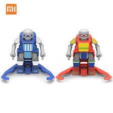 2020 new xiaomi mitu <b>football robot builder</b> diy kids toys robots ...