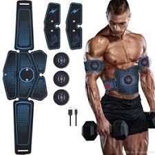 ABS Stimulator Muscle Toner Abdominal Toning Belt ... - Vova