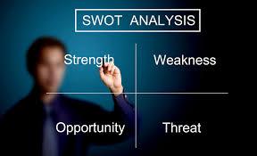 swot analysis template marketing donut swot analysis template