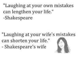 Quotes of shakespeares wife