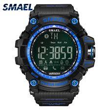<b>SMAEL</b> android ios Bluetooth Smart <b>Watch Men Waterproof</b> Sport ...