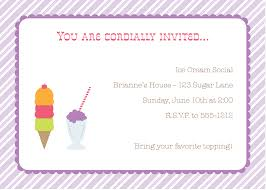 ice cream social invitation templates com party packs ice cream party invite ice cream party invitations party
