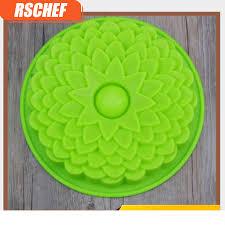 <b>1PCS</b> Silicone single multi style baking tray cake mold sunflower ...