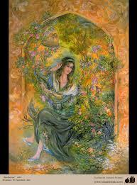 mediation fresh painting farshchian gallery of islamic mediation fresh painting farshchian