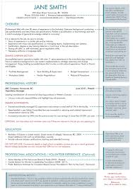 resume template the headhunters recruitment