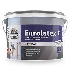 <b>Краска</b> моющаяся латексная матовая Dufa <b>Retail Eurolatex</b> 7 10 л ...