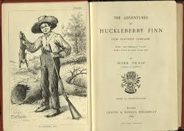 book of the week the adventures of huckleberry finn newsletter adventures of huckleberry finn adventures of huckleberry finn frontispiece