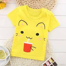 Softu Summer <b>Baby Boys T</b> Shirt <b>Cartoon</b> Car Print Cotton Tops ...