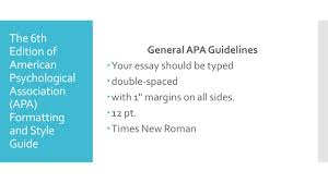 apa 6th merve denizci nazlıgül m s the 6th edition of american the 6th edition of american psychological association apa formatting and style guide general apa