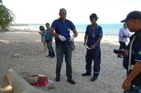 Restos mortais são encontrados próximo à Praia de Mutá