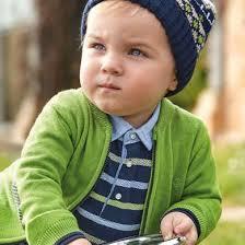 <b>Рубашка</b>-поло с длинным рукавом для <b>мальчика</b> Синий - <b>Майорал</b>