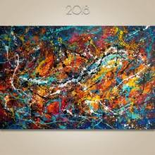 Large decor Painting Hand painted oil Modern <b>Abstract Wall Art</b> Acrylic
