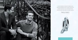 <b>Tiffany & Co</b>. Jewelry Ad Campaign Features Its First Gay Couple
