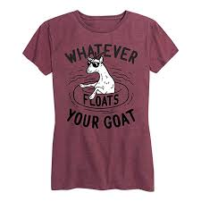 whatever floats your goat t shirt funny new t shirts tops tee unisex free shipping