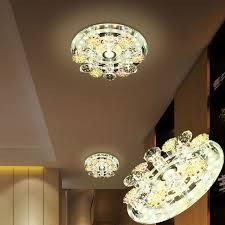 <b>LAIMAIK Crystal LED Ceiling</b> Light AC90-260V Modern Ceiling LED ...