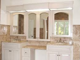 dual vanity bathroom: master bathroom with double vanity and makeup counter ill take this one please my home ideas pinterest decorative mirrors vanities and double