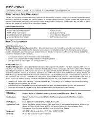 Example Help Desk Manager Resume Sample Aspirations Resume Writing Service sample resume