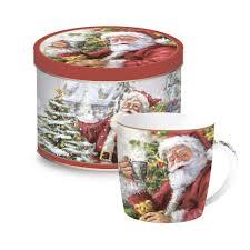 купить <b>Кружка CHRISTMAS</b> TIME <b>SANTA</b> & <b>SNOWMAN</b> 350 мл в ...