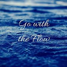 Image result for go with the flow