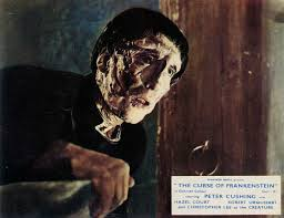 Image result for images of the curse of frankenstein