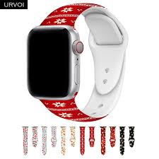 URVOI Gift <b>band for</b> Apple Watch series 5 4 3 2 1 <b>Xmas</b> new year ...