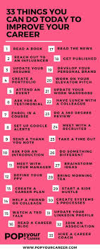 1000 images about career resume tips interview 33 things you can do today to improve your career