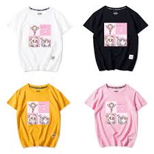 6 Colors Kawaii <b>Sailor Moon Printing</b> Tee Shirt SP14005 – SpreePicky