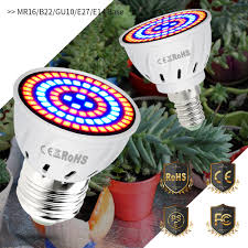 <b>CanLing GU10 LED</b> 220V Plant Light E14 Grow <b>Bulb</b> E27 Fitolampy ...