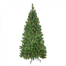 <b>Ель Crystal Trees Триумфальная</b> с шишками 180cm KP8518 - Чижик
