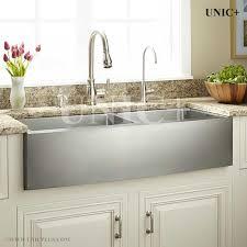 36 inch stainless steel small radius double bowl apron kitchen sink kitchen