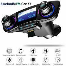 Handsfree Wireless <b>Bluetooth Car</b> Kit FM Transmitter LCD Player ...