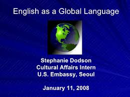english as a world language essay this paper will investigate the opportunities and challenges for nonenglishspeaking countries in the trend of using english as a global language