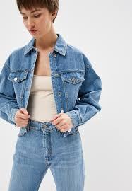 <b>Куртка</b> джинсовая <b>Sportmax Code</b> купить за 11 400 руб ...