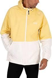 <b>Levi's</b> Men's <b>Marina Windbreaker Jacket</b>, Yellow: Amazon.co.uk ...