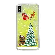 iPhone Xr Case 3D Luminous Bling <b>Flowing Liquid Christmas Tree</b> ...
