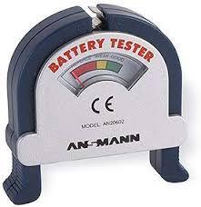 <b>ANSMANN</b> Analogue <b>Battery Tester</b> Pocket-Sized Battery: Amazon ...