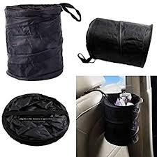 LECO <b>Collapsible Car</b> Dustbin Pop Up Oxford Cloth Trash Bin ...