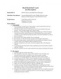 basketball coach resume cover letter sample cipanewsletter cover letter coaching resume template basketball coaching resume