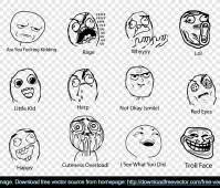Download Free Vector » Blog Archive » Free vector meme faces via Relatably.com