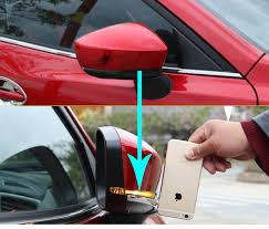 <b>2PCS for Mazda 3</b> Axela 2017 Rearview mirror anticollision strip ...