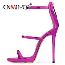 <b>ENMAYER</b> Brand Extreme <b>High Heels Sandals</b> Woman <b>Pumps</b> ...