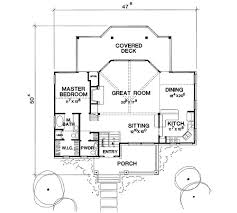 The Lakeview   Bedrooms and Baths   The House DesignersSecond Floor Plan