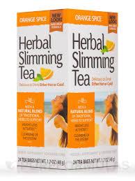 <b>Herbal Slimming Tea</b>, <b>Orange</b> Spice - 24 Tea Bags